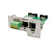 Карта мониторинга (плата расширения интерфейсов) IC-SNMP/mini-USB